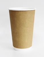 Бумажные стаканы одноразовые: для кофе, для горячего, для